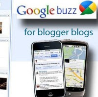 add google buzz for blogger