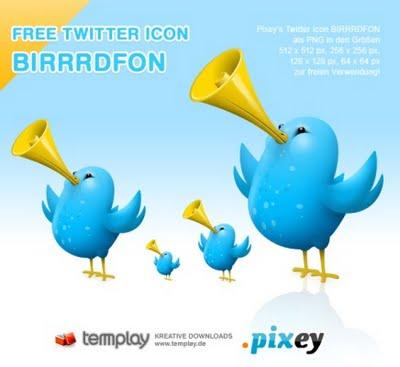 Twitter Icons BIRRRDFON