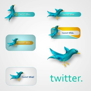 Twitter Icons by JuliusX