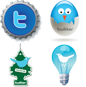 Twitter Icons By Graphic Left Overs