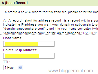 Godaddy custom domain setting