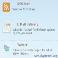 subscribe-widget for blogger