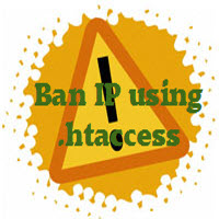 ban ip address using htaccess