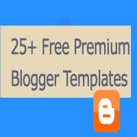 25 premium blogger templates