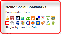 hb social bookmarks screenshots