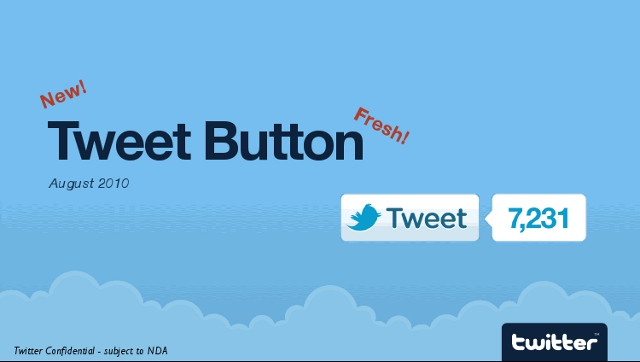 twitter's official twitter button