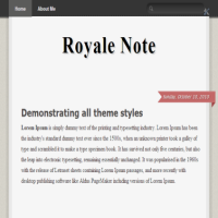 royale-note blogger template