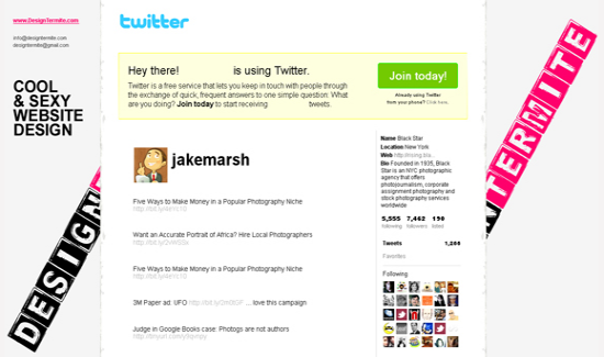 custom twitter background design tips