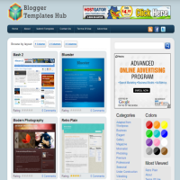 blogger templates hub contest