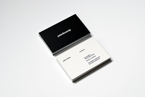 E business card blogger template business cards template settings flashek Gallery