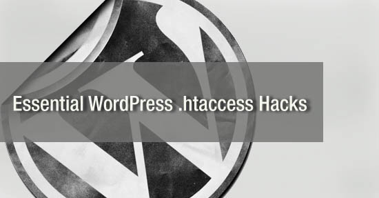 wordpress .htaccess hacks
