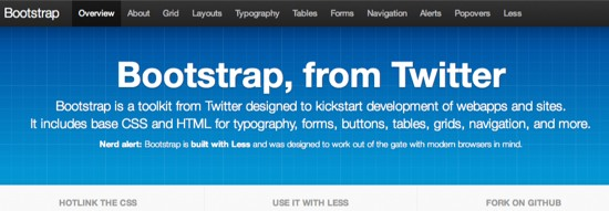 bootstrap web development toolkit