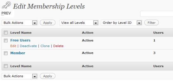 membership-pro wordpress plugin