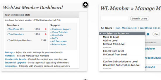 wishlist wordpress membership plugin