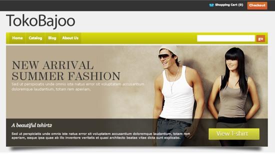 tokoBajoo wordpress ecommerce theme