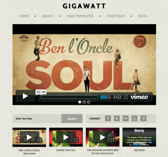 20 Best Premium & Free WordPress Video Themes For 2012