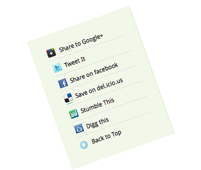 create custom Google Plus One button