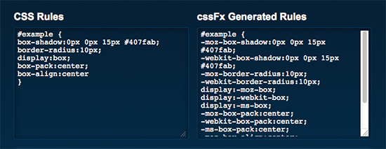 cssFX javascript