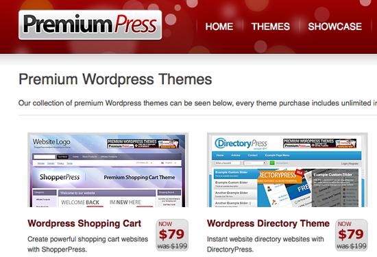 Giveaway - 5 PremiumPress WordPress Theme Licenses