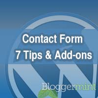 contact form 7 wordpress plugin tips