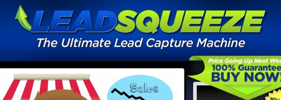 lead squeeze theme