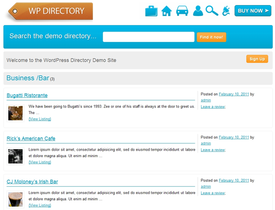 wordpress directory plugin