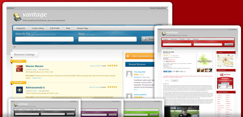 vantage - wordpress directory theme