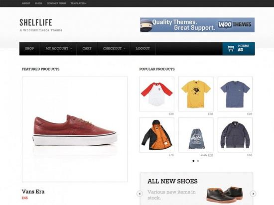 shelflife theme screenshot