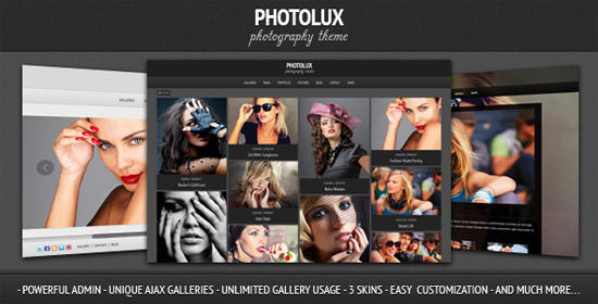 photolux wordpress portfolio theme