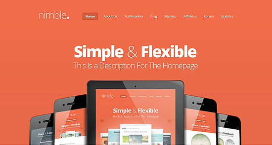 nimble wordpress portfolio theme