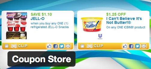 coupon store wordpress plugin