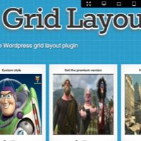 grid layout shock WordPress plugin