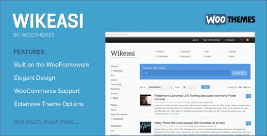 5 Knowledge Base / Wiki WordPress Theme 2013
