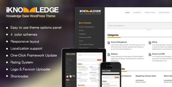knowledge base wordpress theme