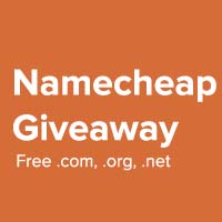 namecheap domains giveaway