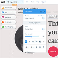 wix.com website builder
