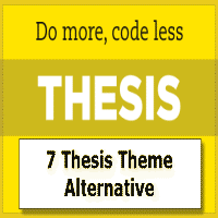 thesis theme twitter widget The only thing i've paid for is the thesis theme, which handles the look and feel  of the  in my opinion, only two share options matter anymore: facebook and  twitter  this plugin showcases the most popular posts on your site in the  sidebar,.