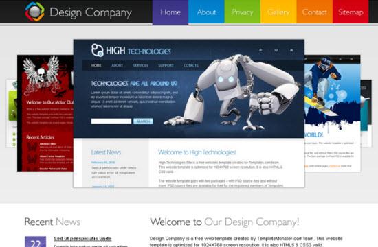 free html5 templates